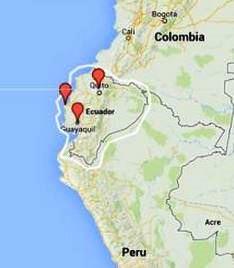But Where Is Ecuador - Where is ecuador located